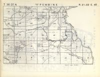 Map Image 042, Marinette County 1954